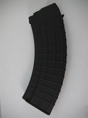 7.62x39 30rd AK Magazine - Steel Reinforced Polymer  (with Improved 2nd Generation Follower)