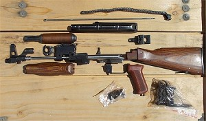 Polish AKM-47 Parts Kit ALL MAJOR PARTS MATCHING #'S